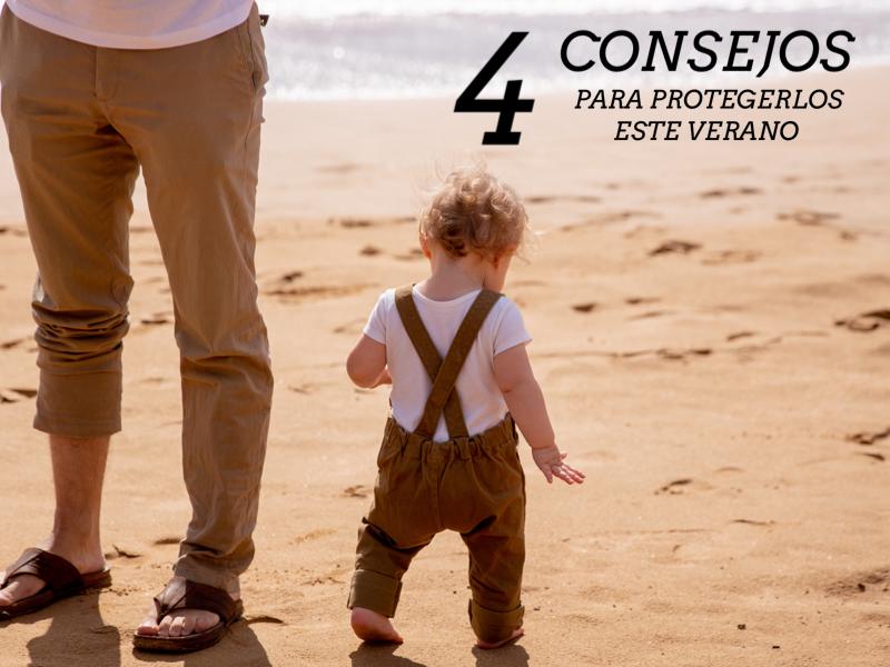 Consejos para la protección de los más pequeños durante el verano